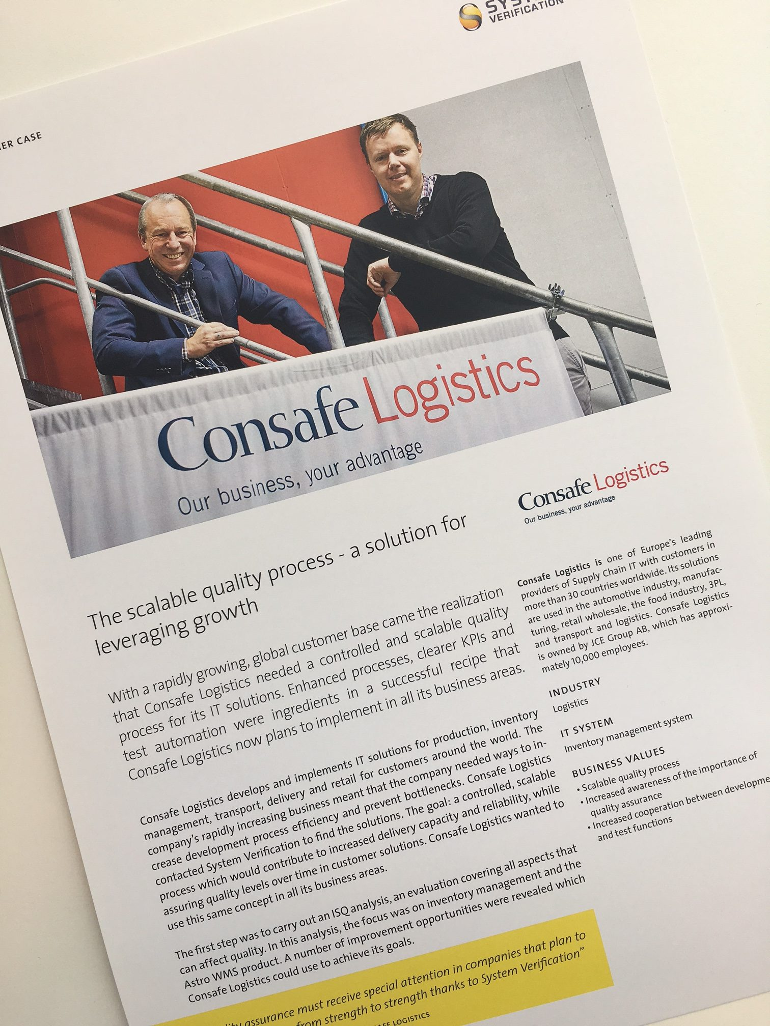Consafe Logistics, Lund