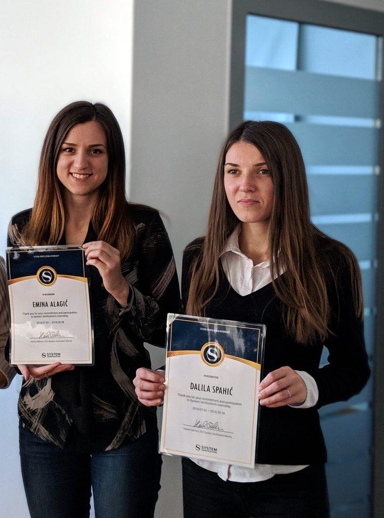 Emina and Dalila System Verification internship