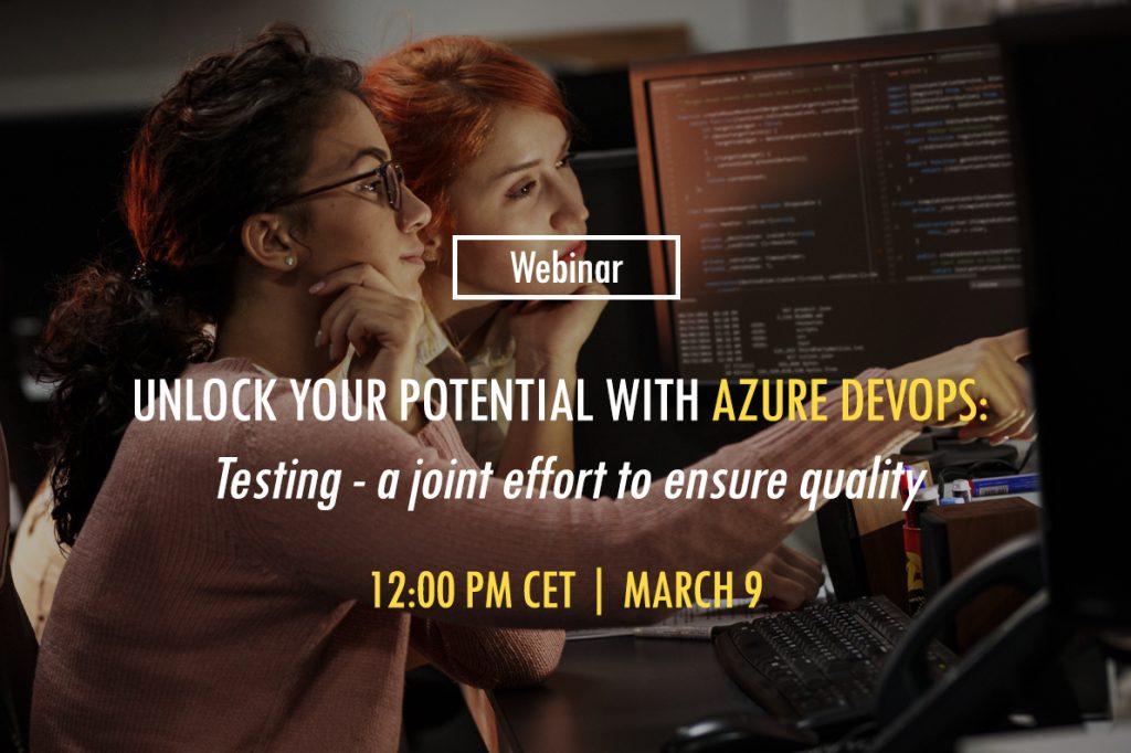 Azure DevOps Webinar